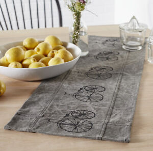 Details About Vintage Bike Short Table Runner