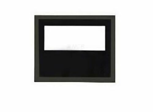 NEW BLACK ONE TIER NOTIFIER DR-A4 DOOR ASSEMBLY LEXAN WINDOW