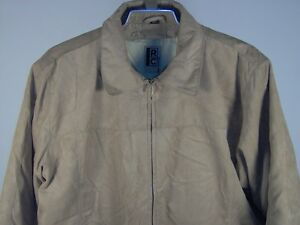 Robert-Comstock-Down-Jacket-Camel-Large-Mens-New