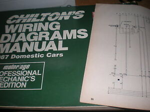 1987 FORD THUNDERBIRD MERC COUGAR WIRING DIAGRAMS SCHEMATICS MANUAL SHEETS  SET | eBayeBay