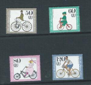 Allemagne (berlin) 1985 Umm Youth Welfare Sg B697/700-afficher Le Titre D'origine