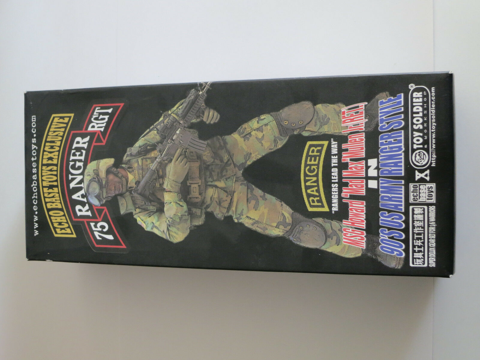 TOYSOLDIER MSG Howard Mad Max Mullen 90s US Army Ranger 1 6th Action Figure NEW