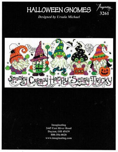 Halloween Gnomesby Imaginating cross stitch pattern