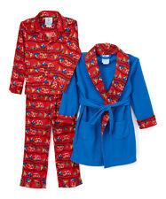 NEW Boys' 2T Christmas Train Robe & Pajamas Set Polar Express Red Blue PJs