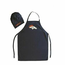 PSG NFL Denver Broncos Chef Hat and Apron Set