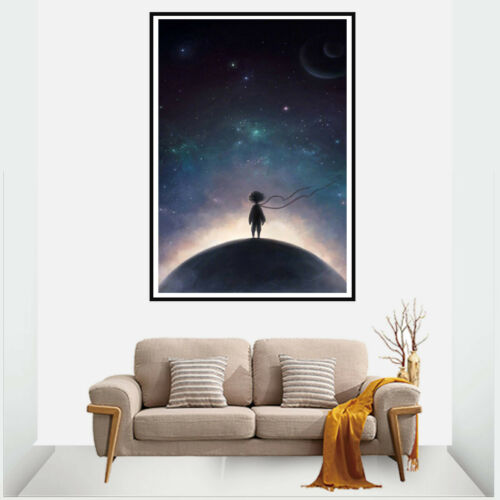 Desert Boy Rose Garden Canvas Painting Poster Living Room Bedroom Home Decor