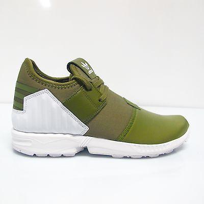 ADIDAS scarpe ginnastica uomo ZX FLUX PLUS S79062 col.VERDE MILITARE estate 2016 | eBay