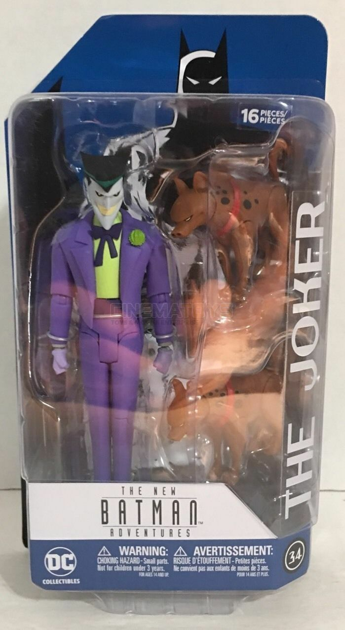 DC Collectibles Batman The Animated Series THE JOKER & hyenas Action Figure N.34