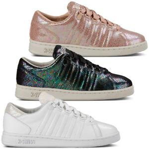 Details zu K Swiss Lozan III TT Iridescent Women Schuhe Tongue Twister Sneaker 95399 Arvee