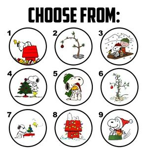 63 charlie brown snoopy christmas envelope seals labels stickers