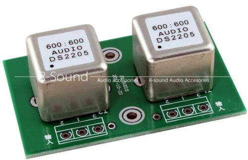 Transformador de Audio 600:600 Permalloy DS2205 Transformador de aislamiento de señal de audio