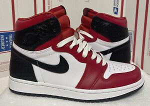 Vnds Nike Air Jordan 1 Og Serpiente De Satén Alta Chicago Para Mujer Talla 7 Cd0461 601 Ebay