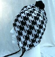 Winter Peruvian Ear Flap Ski Hat Beanie Cap Snow Fashion Men Women Unisex
