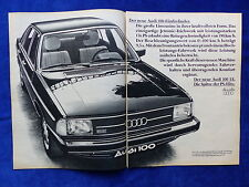 Audi 100 5E - Werbeanzeige Reklame Advertisement 1977 __ (260