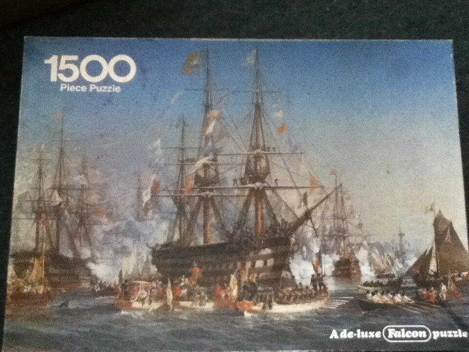 ** Napoleone III che ricevono REGINA VITTORIA A cherborg-Puzzle 1500 PEZZI **