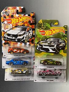 Hot-Wheels-2020-Camouflage-Series-Exclusive-5-Car-Set