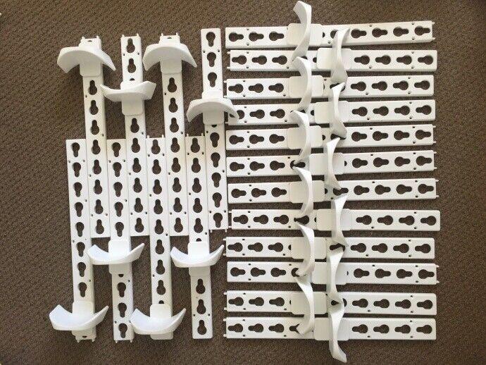10Set conjunto de salto de caballo (20 Tazas +20 pistas) Tazas pistas de ojo de cerradura equipo ecuestre