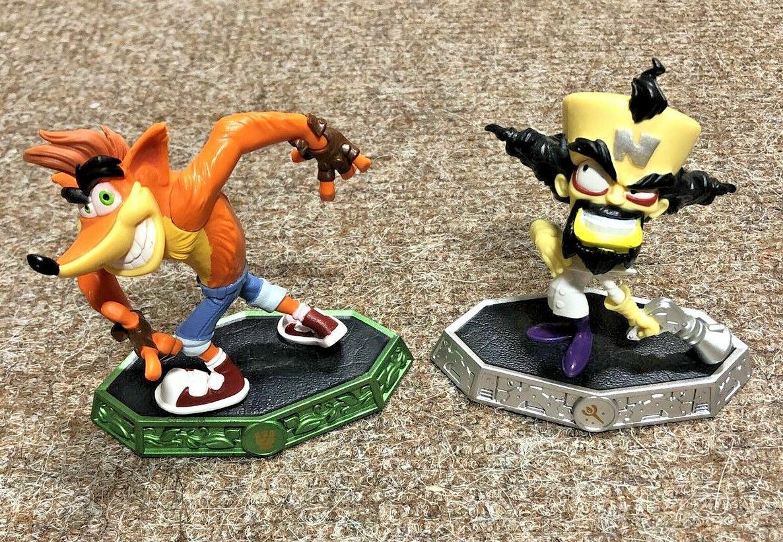 Skylanders Imaginators Crash Bandicoot And Dr Neo Cortex set