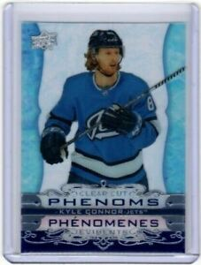 2020-21-Upper-Deck-Tim-Hortons-NHL-Hockey-Clear-Cut-Phenoms-Kyle-Connor-CC11