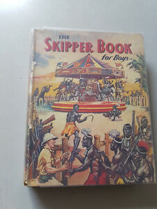 SKIPPER BOOK FOR BOYS 1941 vintage annual -  D. C. Thomson - VG