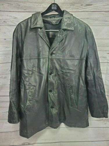 Coach Leather Jacket Men's XL 100% Leather With W… - image 1