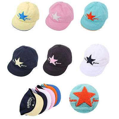 3~7 Years Unisex Kids Boys Baby Girls Teamlife Buckle Baseball Cap Hip-hop Hats