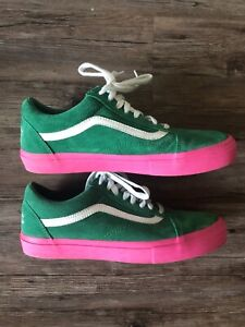 c5080961fbef VANS X Golf Wang Syndicate Green Pink 11 supreme odd future Shoes ...
