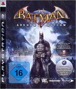 PS3-Sony-Playstation-3-Spiel-Batman-Arkham-Asylum-Standard-DE-EN-mit-OVP