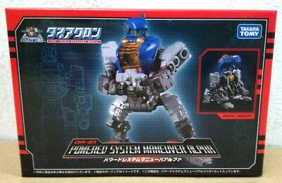 Transformers Takara Tomy Diaclone DA-21 Powered System Maneuver Alpha Figure NEW
