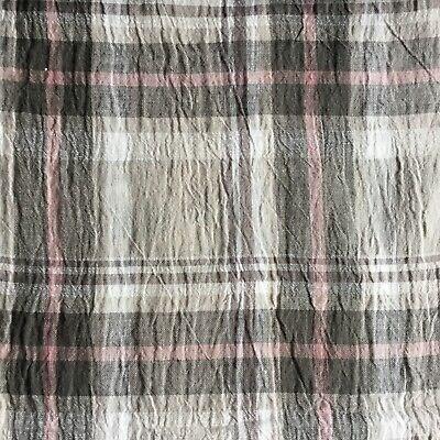 Jersey Stoff mit Leinen Breite 160 cm beige meliert