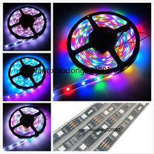 10M 2x 5M Black PCB 5050 RGB WS2811 Digital Dream Color LED Strip 133 change 12V