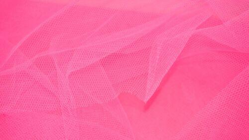 Flo Rose Dress Net Tutu Fabric Tulle Fairy Bridal Nylon Material FLARE FREE