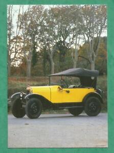 CARTE-POSTALE-CPM-automobile-voiture-5-CV-CITROEN-TREFLE-1926