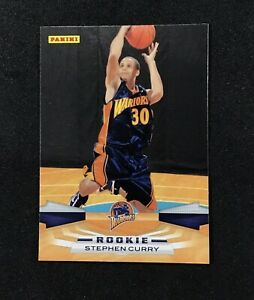 2009-10-Panini-357-STEPHEN-CURRY-Rookie-Basketball-Card-Gold-State-Warriors