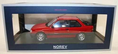distribución global PEUGEOT 309 GTI ROJO 1987 NOREV 1 18. ENVÍO GRATUITO GRATUITO GRATUITO  perfecto