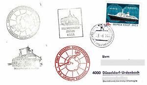 Polarpost: LINDBLAD EXPLORER - FIRST ANTARCTIC CIRCUMNAVIGATION - 1974