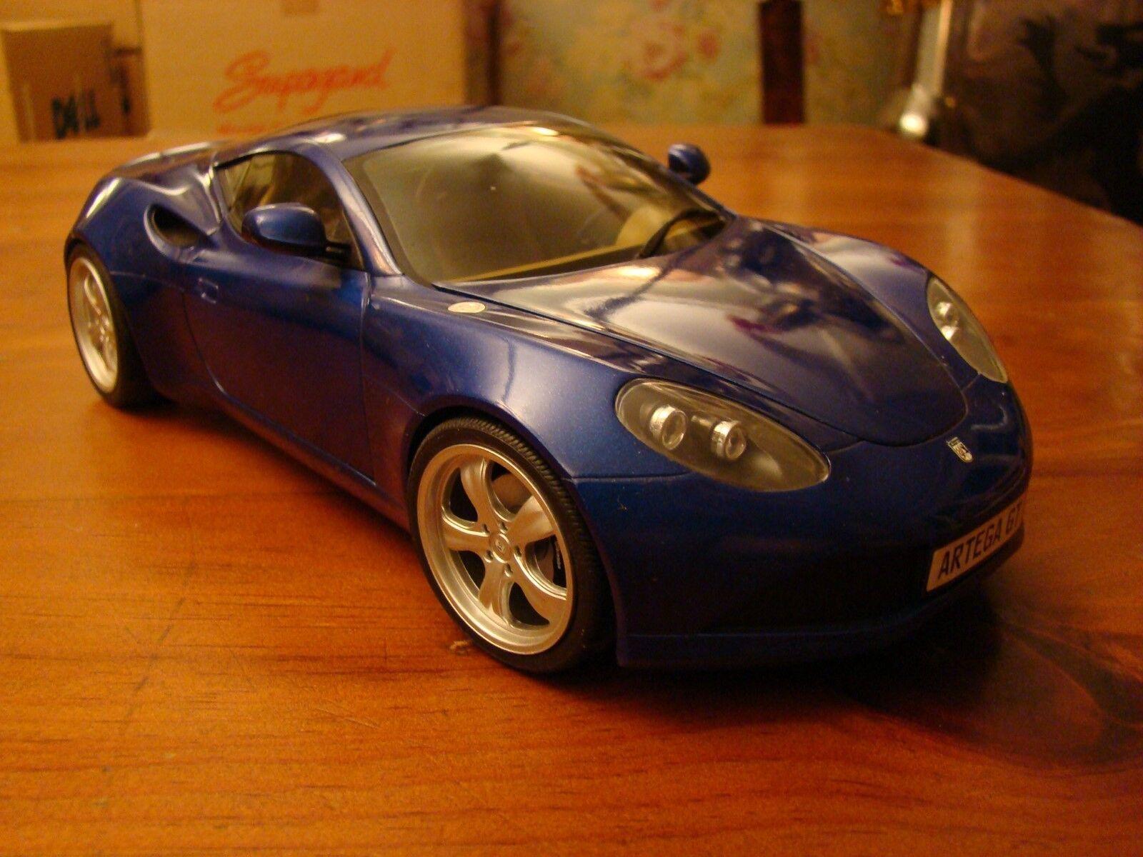 1/18 ARTEGA GT COUPE 3.6 LITRI VR6 RARA 2009 Composite Viper Blu Crema Nascondi