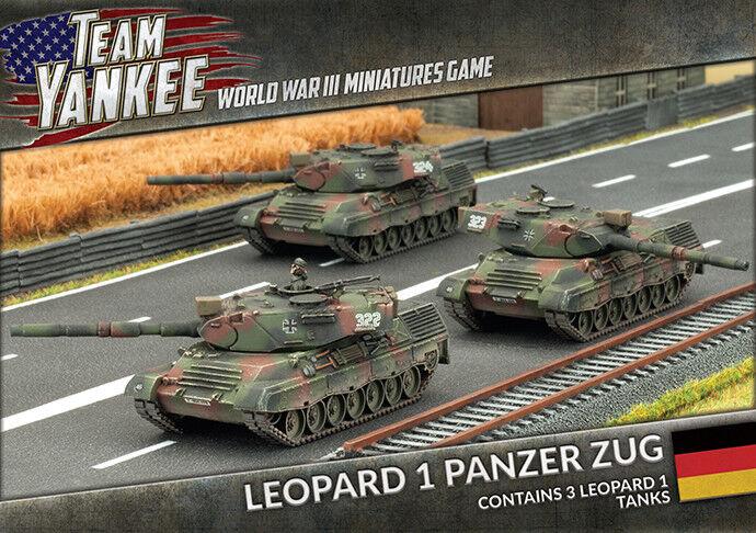 Leopard 1 Panzer Zug (x3) Battlefront Miniatures