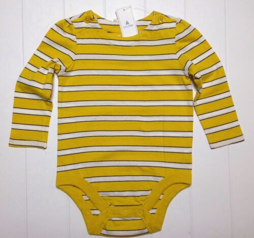 Baby Gap Shirt Bodysuit One Piece striped Shirt 6 12 Months NEW Girl LBFO