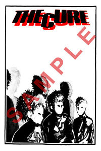 "Robert Smith The Cure Music Band Signed Autograph PRINT 6x4/"" GIFT"