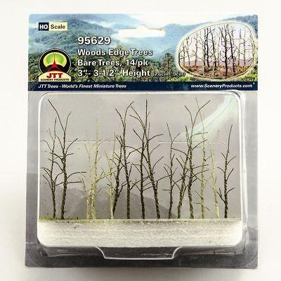 "HO-Scale Woods Edge Trees JTT GREEN TREES 3/"" NIB 95617 3-1//2/"" Tall"