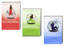 MATCHED,CROSSED & REACHED (pb) by Ally Condie 3 Books NEW