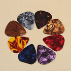 10Pcs Picks 0.46mm Multicolor Heart Celluloid Acoustic Electric Guitar Plectrums