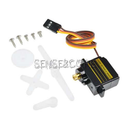 ES08MAII Mini Metallgetriebe 13g Analog Servo 1.6KG 0.12sec ES08MA