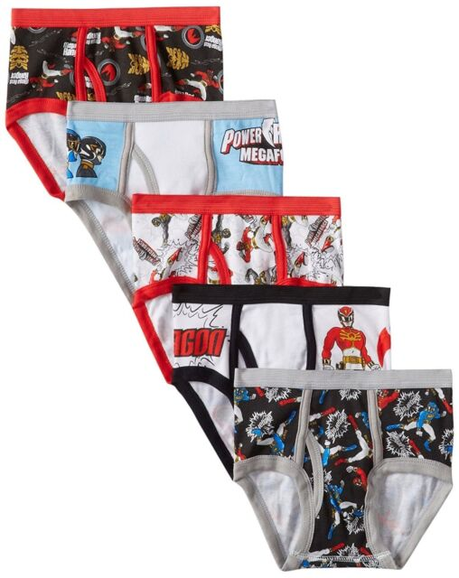 Power Rangers Boys Briefs Pack of 5