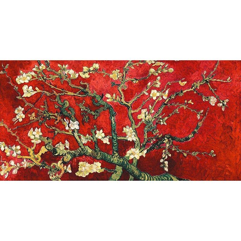 Quadro su Pannello in Gogh Legno MDF Vincent Van Gogh in Van Gogh Deco – Mandorlo in fio 177878