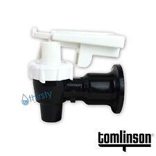 Tomlinson Water Cooler Faucet Spigot Dispenser Valve White Safety Lock Sunbeam