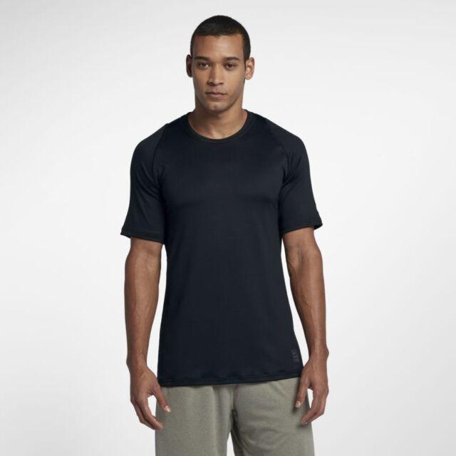 Nike Men/'s Pro Colorburst Slim Fit  Training Shirt Black  AH7989-010 NWT Sz M