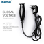 Kemei-Hair-Clipper-with-Wire-Two-Different-Cutter-Heads-amp-Limit-Combs-KM-701 thumbnail 6