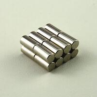 10pcs Bulk Small Round NdFeB Neodymium Magnets D10X20mm N50 Super Powerful